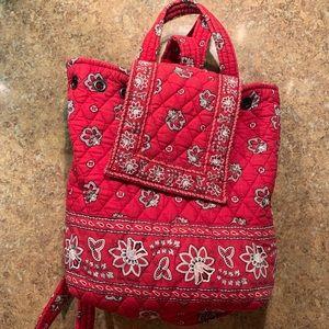 Vera Bradley Red Backpack